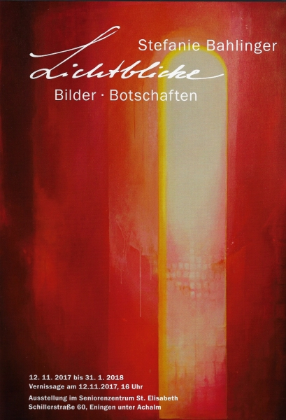 Ausstellung St. Elisabeth in Eningen