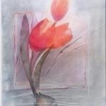 ´Ins Licht` (Pastelldrucktechnik, Din A4)