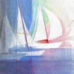 `Sail away` ( Pastellkreide 30x40cm ) auch als Karte erhältlich