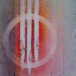 `Orgel` (Pastellkreide, Din A4)