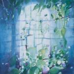 `Wähle das Leben 2`, Acryl, 40x50 cm, Leinwand