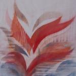 `Freiheit `, Pastellkreide, Din A 4