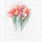 'Wie die zarten Blumen' 16x23cm